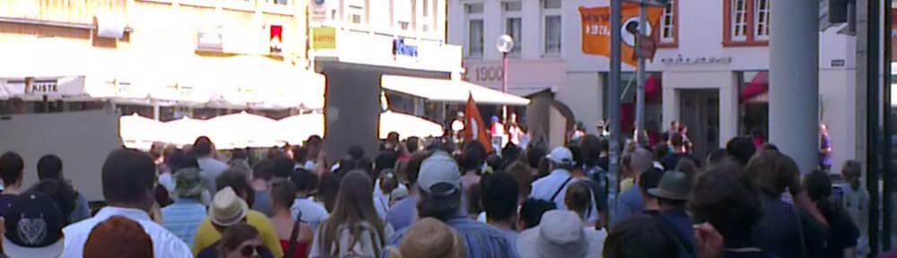 Demo Trier am 27.07.2013