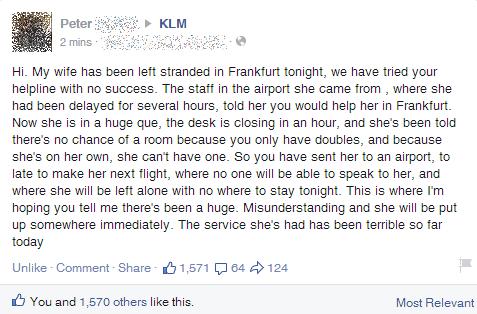 KLM April Fools Prank 1