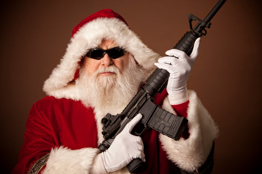 properly licensed santa